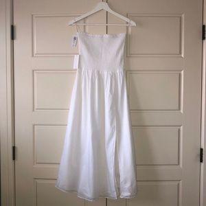 Aritzia Wilfred White Sundress